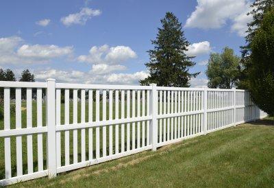 vinyl - fence